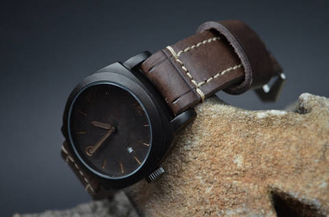 BROWN II is one of our hand crafted watch straps. Available in brown color, 4 - 4.5 mm thick.