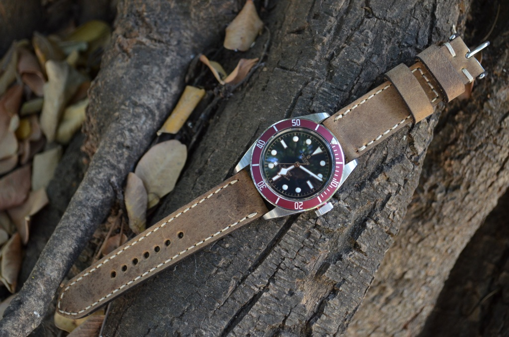 SAVAGE HAVANA is one of our hand crafted watch straps. Available in havana color, 4 - 4.5 mm thick.