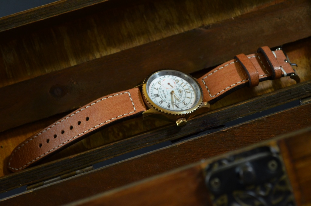 HAVANA II is one of our hand crafted watch straps. Available in havana color, 3 - 3.5 mm thick.