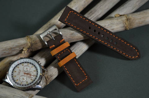 BROWN HAVANA is one of our hand crafted watch straps. Available in brown havana color, 3 - 3.5 mm thick.