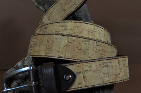 35MM CALF CORK is one of our hand crafted belts, made with exceptional quality natural cork. Available in cork color, 35 mm wide & 4 - 4.5 mm thick.